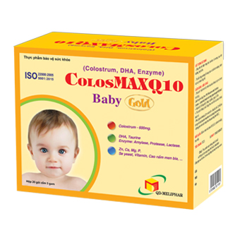 Colosmax Q10 Baby Gold