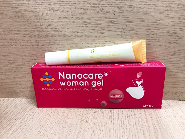 Nanocare Woman gel mẫu mới 2019